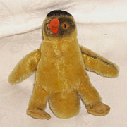 STEIFF 5 Inch Peggy Penguin Mohair No Tags