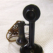 SOLD 1915 Western Electric Company Candlestick Telephone