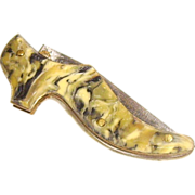 Small Women's Shoe Celluloid Folding Pocket Knife Germany