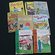 SALE Whitman Big Tell-a-Tale Children Book Set