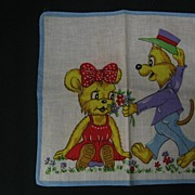 SALE Colorful Children's Hankie