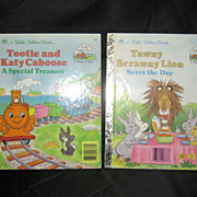 """SALE Special """"Little Golden Book Land"""" Golden Books Set of Two"""