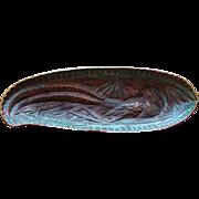 SALE Rare Virginia Metalcrafters Pheasant Dish