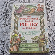 SALE 1983 The Random House Of Poetry For Children