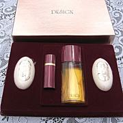 SALE Vintage Design  P.Sebastian  Cologne Soap Set