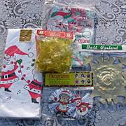 SALE Vintage Christmas Decorating Set