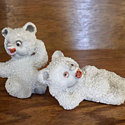 SALE Adorable Bear Salt and Pepper Shaker Set