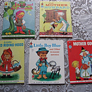 SALE Rand McNally Elf  Anne Sellers Leaf Children Book Set