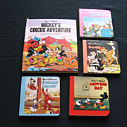 "SALE Disney ""Mickey's Circus Adventure"" Pop-up Book Set"