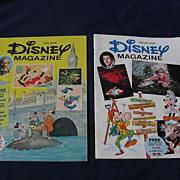 1970's Walt Disney Children Magazine Set