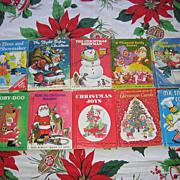 SALE Rand Mcnally Junior Elf Christmas Book Set Of Ten