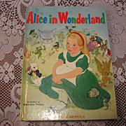 """SOLD 1955 """"Alice In Wonderland"""" Illustrator Majorie Torrey Children Book"""