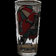 SALE Rare 1976 Pepsi Penquin Glass
