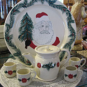 SALE 1994 Mill Creek Stoneware Christmas Set