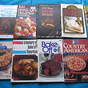 SALE Pillsbury Cookbooks Set of Twelve