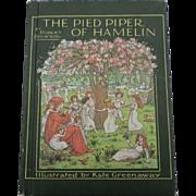 """Robert Browning The Pied Piper Of Hamelin"" Kate Greenaway Illustrator"