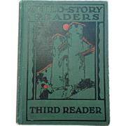SALE Rare 1927 Child Story Readers Third Reader