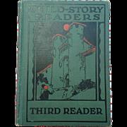 SALE Rare 1927 Child Story Readers Third Reader