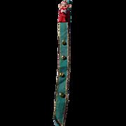 SALE Rare Knee Hugger Pixie Elf Christmas Bells Door Hanger