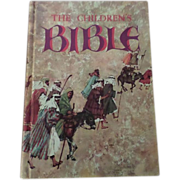 SALE 1965 Golden Press The Children Bible