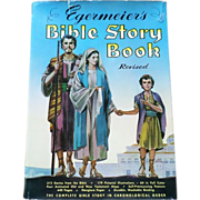 SOLD 1955 Egermeier's Revised Bible Story Book