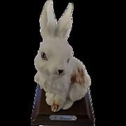 SALE 1984 Giuseppe Armani Rabbit Figurine