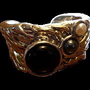 SALE Designer Sterling Israeli Cuff Bracelet