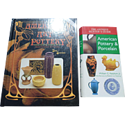 SALE American Art Pottery Reference Book Set