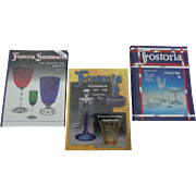SALE Fostoria Glassware Price Guides