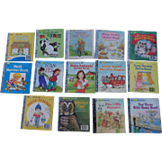 SALE A First Little Golden Book Set Of Fourteen