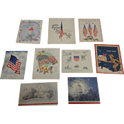 SALE Vintage Military Christmas Card Collection