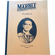 SALE 1996 Marbles Arms & Poly-Choke Product Catalog Gladstone Michigan