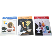 SALE Hardcover Imperial Glass Encyclopedia Price Guide Set
