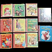Miniature 1940's Children Lolly Pop Book Set