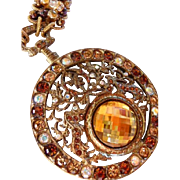 vintage Jay Feinberg Strongwater necklace signed estate