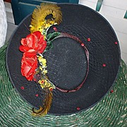 SALE Fleur de Paris New Orleans Nicole LeBlanc Ladies Hat