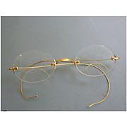 1/20 12kt GF Spectacles Eyeglasses