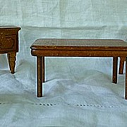 SALE 5 Piece Dining Room Set Strombecker and Kage Dollhouse Furniture 3/4 Scale