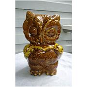 Wonderful Winking Owl Cookie Jar