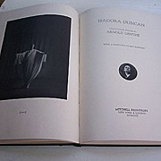 SALE Arnold Genthe Isadora Duncan Twenty Four Studies 1929