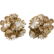 SALE Amourelle Miriam Haskell Style Pearl Earrings