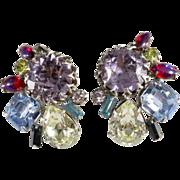 Designer Earrings w/ Dragon's Breath Rhinestones