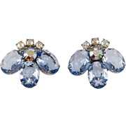 Juliana DeLizza Elster Light Blue LARGE Earrings