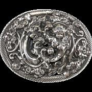 Napier Baroque Style Cherub Brooch