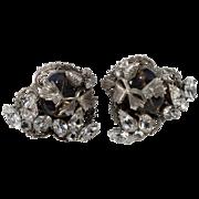 SALE Original by Robert Gray Bead & Rhinestone Earrings