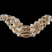 Vendome Beaded Faux Pearl Bracelet