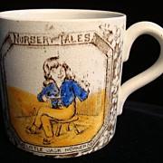 SALE Antique ABC Mug ~ Little Jack Horner 1880