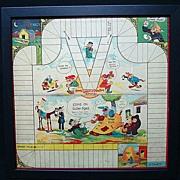 SALE Framed Game Board ~ Google and SPARK PLUG 1923
