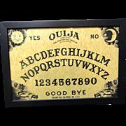 SALE Framed Spirit Game Board ~ OUIJA 1930-1950