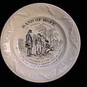 SALE Pearlware Band of Hope ~ Sabbath Breakers 1850